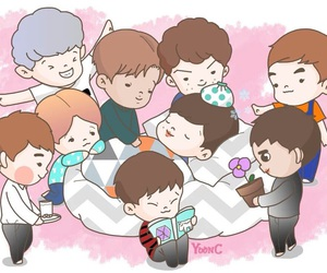 exo, fanart, and lay image