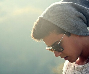 boy, Hot, and sunglasses image