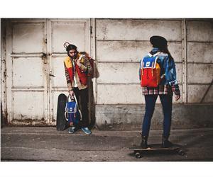 bag, skate, and lookbook image
