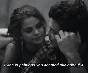 selena gomez, pain, and quotes image