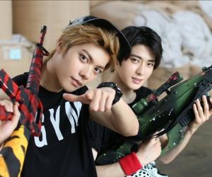 jaehyun, nct, and hansol image