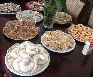 arab, cake, and food image