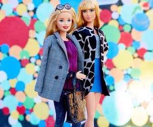 barbie and colourful image