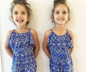 cute, girl, and twins image