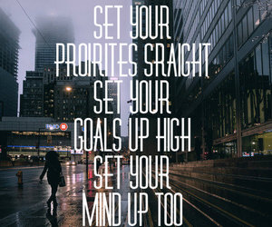 city, city lights, and goals image