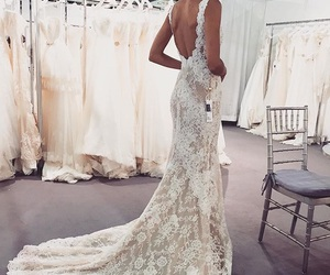bride, dress, and gorgeous image