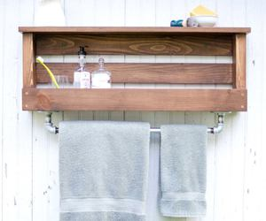 bathroom, decorating, and pallet ideas image