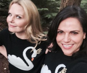 once upon a time, Jennifer Morrison, and lana parrilla image