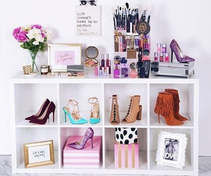 shoes, decoration, and makeup image