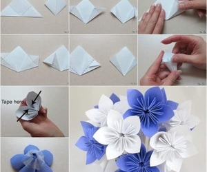 diy, flowers, and tutorial image