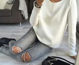 fashion, girl, and Hot image
