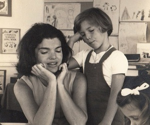 caroline kennedy and Jackie Kennedy image