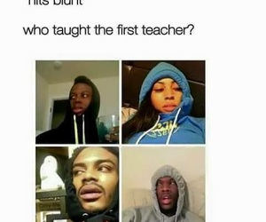 funny, lol, and hits blunt image