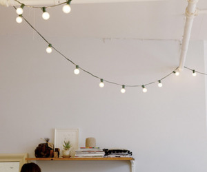 lights, room, and white image