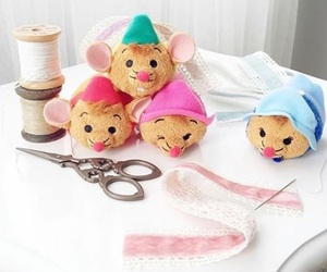 disney, mouse, and tsum tsum image