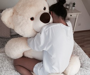 bear, couple, and love image