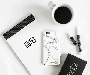 white, coffee, and black image