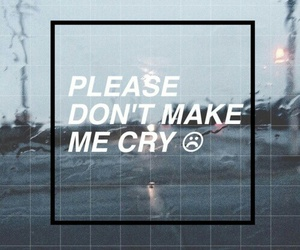 grunge, cry, and sad image