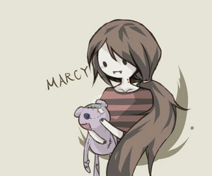 adventure time, marceline, and marcy image