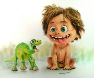 dinosaur, disney, and drawing image
