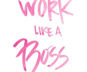 quotes, boss, and pink image
