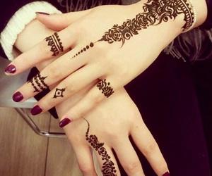 arabic, beautiful, and tattoo image