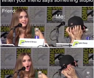 lydia, teen wolf, and comiccon image