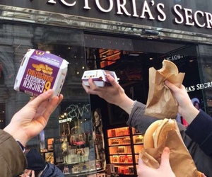 food, Victoria's Secret, and funny image