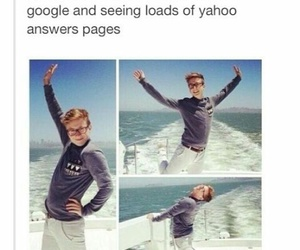 funny, tyler oakley, and homework image