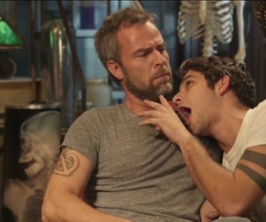 teen wolf, tyler posey, and jr bourne image