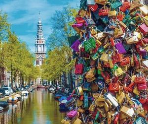 amsterdam, beautiful, and travel image