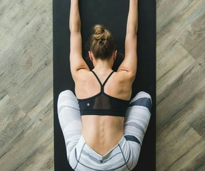fitness, healthy, and yoga image