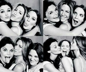 friends, Jennifer Aniston, and drew barrymore image