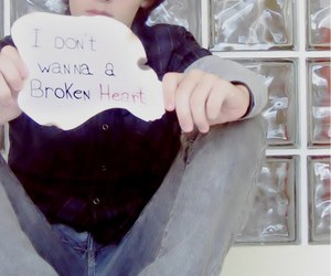 boy, love, and broken image