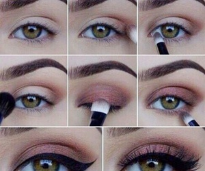 beauty, eye, and eyebrow image