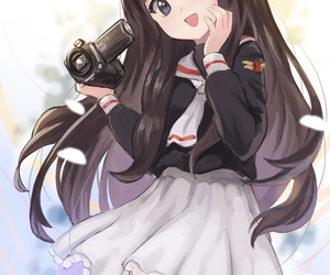sakura cardcaptor, tomoyo, and anime image
