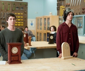 logan lerman, charlie, and ezra miller image