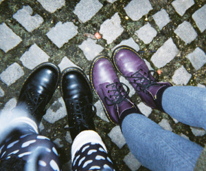 grunge, indie, and boots image