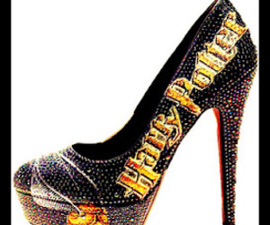 harry potter, shoes, and heels image