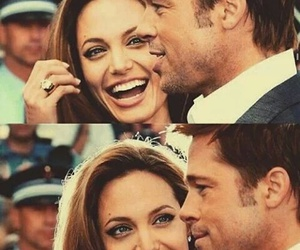 love, Angelina Jolie, and couple image