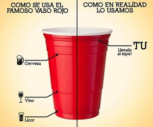 red, vaso, and alcohol image