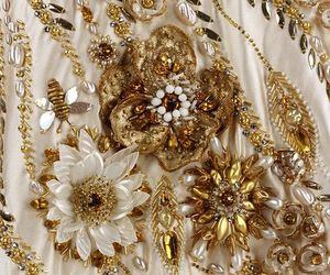 beading, embroidery, and fashion image