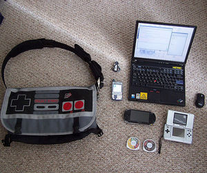 ds, gadgets, and laptop image
