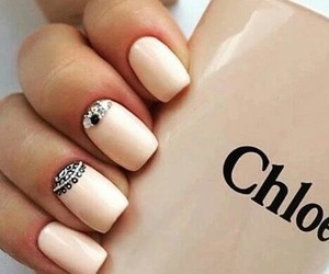nails, chloe, and art image