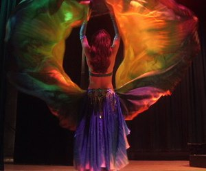 belly, dance, and hermoso image
