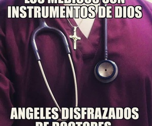 god, spanish, and medicina image