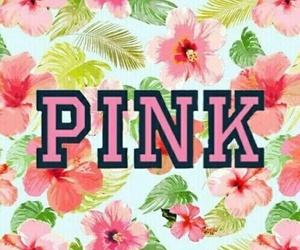 pink, wallpaper, and flower image