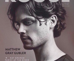 black and white, matthew gray gubler, and gubler image