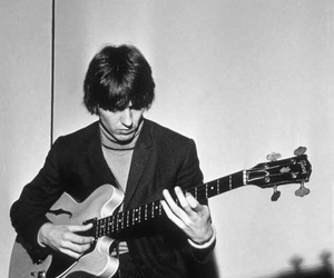 60s, george harrison, and the beatles image