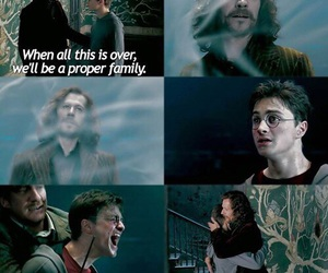 harry potter, sad, and sirius image